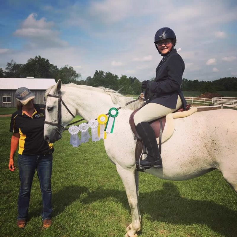 Tamryn & Alyna Show at Vector Equestrian